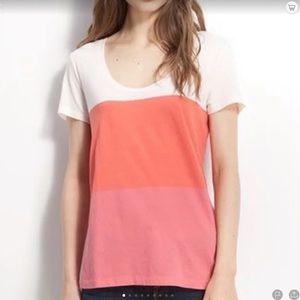 Caslon Color block Tee-Shirt